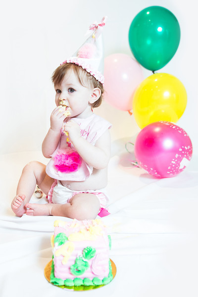 Reagan's 1st Birthday Shoot