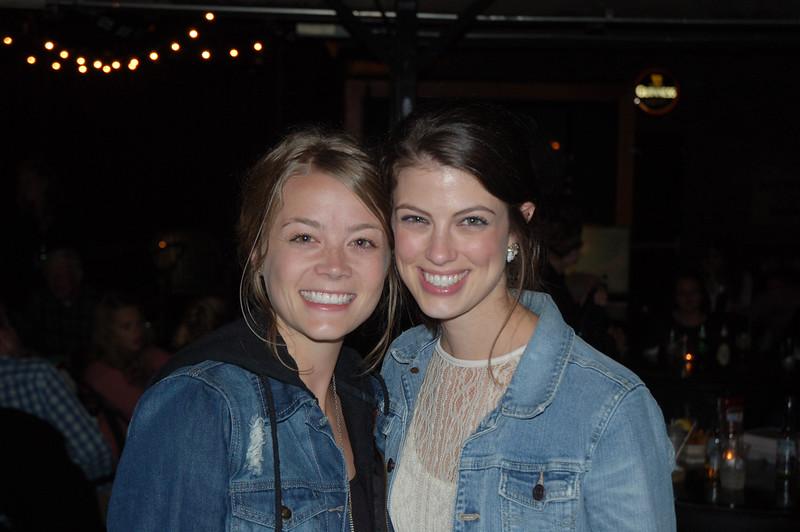 Becca and Leah