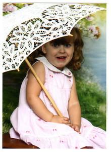 July 2009--Rebecca 3 years old