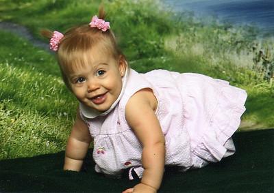 July 2009--Leslie 1 years old