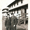 """Photo is labeled """"Roy Tannahill and Burt Whitlock Fort Bragg NC 1947."""""""