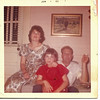 Tammy's mom, sister, and dad (Myra Nell, Sonya, Ewell B. Smith, Jr.). Alabama 1960.