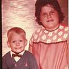 Tammy Lyn Smith and Warren Burbank. Ages unknown. No markings on back of photo.