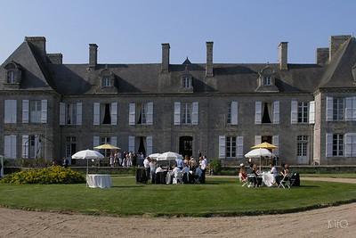 Reception at Château du Guilguiffin