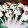 12/12 - Our circle had its Christmas brunch today, and I made these cake pops. Pretty easy to make (thanks, Pinterest), and they turned out pretty cute. They are carrot cake with white chocolate covering. A personal favorite.