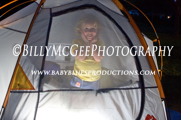 1st Camp Out - 22 Aug 08