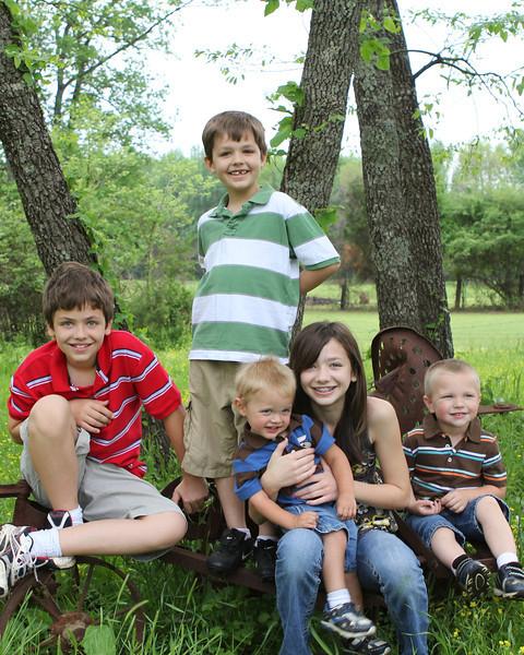 Reeder Family  Easter 2011