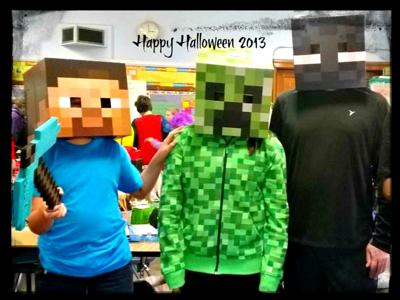 2013 Halloween Minecraft