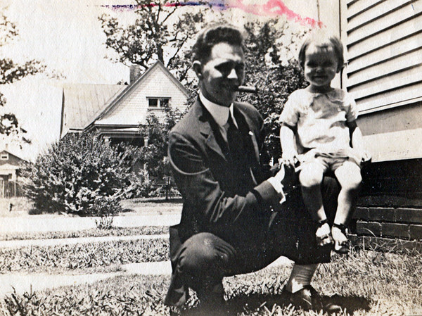 Fred Fulton Sr. and Daughter Mildred (Fred suffered from colon cancer - see story below):
