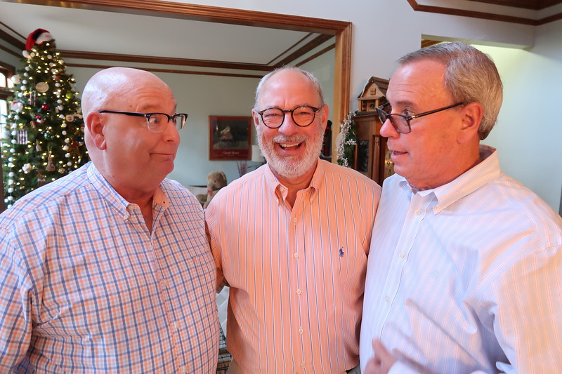 Chuck, Scott & Kyle Newton