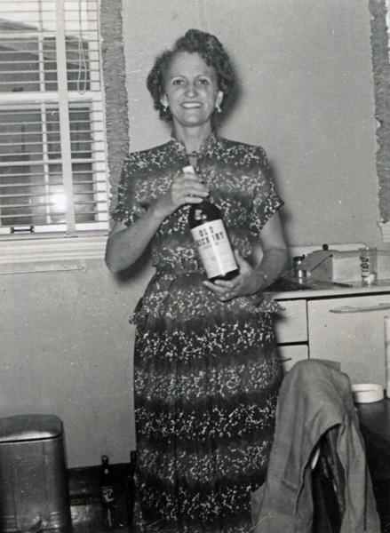 Hazel Adeline (Pat) Burgdorf (Leavitt)