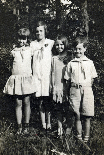 The Fulton Children - 1928