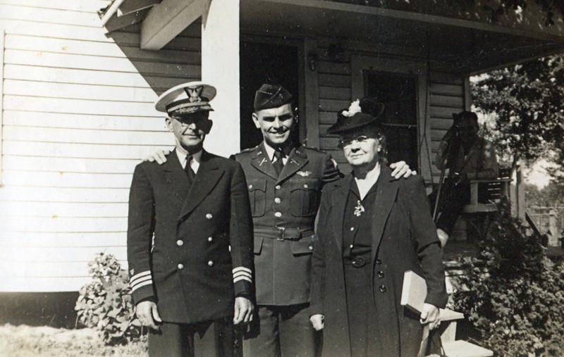 Left to Right: Grand Daddy Donaldson, Fred Fulton Jr. & Rosa Lee (Granny) Donaldson (Ware/Leavitt)