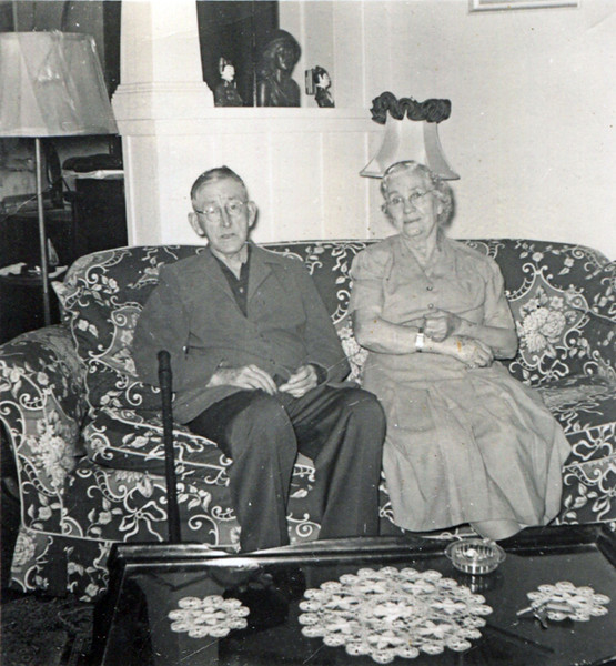 Grand Daddy Donaldson and Rosa Lee (Granny) Donaldson (Ware/Leavitt)