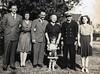 """Veech, Evelyn Veech (Fulton/King), William """"Brother"""" Leavitt, Granny Donaldson (Leavitt), Chris Veech (King), Grand Daddy Donaldson, Mildred Fulton (Yarbrough)<br /> December 24, 1944"""