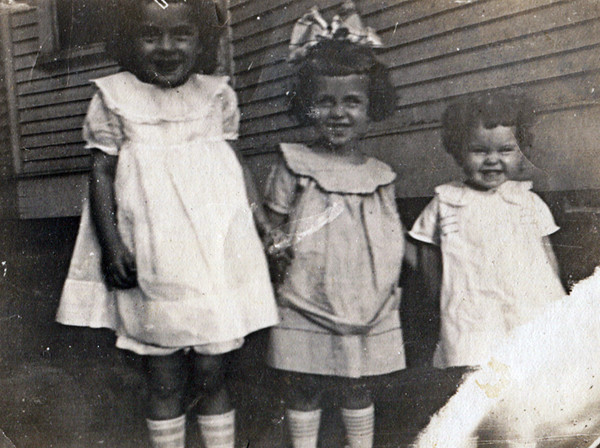 Left to Right: Evelyn, Dorothy & Mildred Fulton
