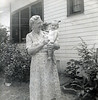 Rosa Lee (Granny) Donaldson (Ware/Leavitt) with Buddy (Fred Fulton) around 1952