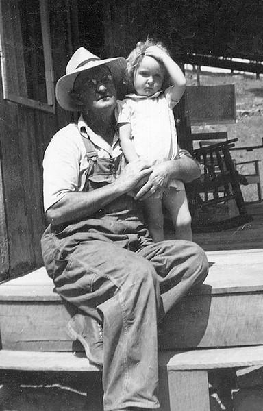 Elbert Swann and grand daughter Carol Gregory