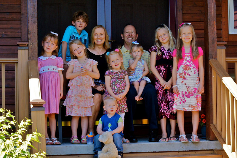 Paige's Children with Their Grandparents