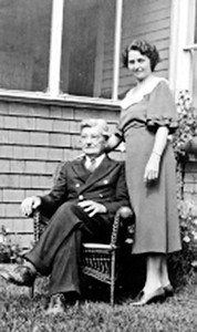 Great grandfather John Francis Yarbrough and daughter Audrey Yarbrough