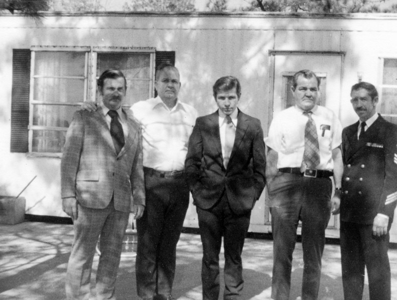 from left to right: Bert Yarbrough (the 3rd), Bob Yarbrough, Tommy Yarbrough, Jim Yarbrough, James Yarbrough (from 1978)