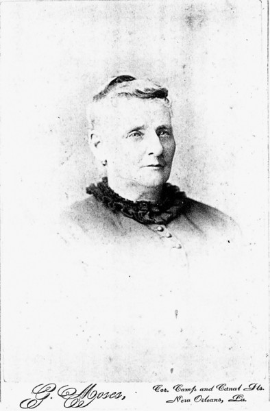 Three great grandmother Julienne Bourgeois Toups - b. 1826 Mother of Josephine Toups Chappuis, who was mother of August Chappuis Sr.