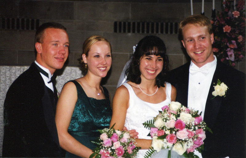 Sean's wedding - 2000