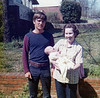 Dewey Shepard with mother Mary (Shepard) Yarbrough and Erin Yarbrough (Drummond) - 1972