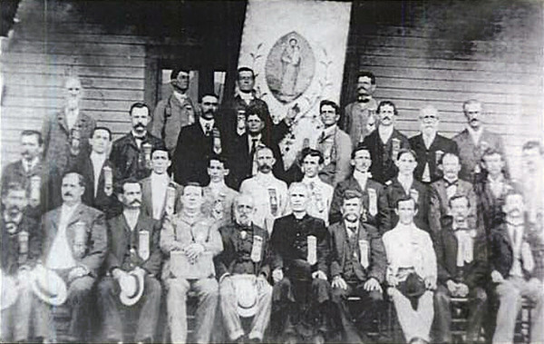 The Rayne, Louisiana St. Joseph Society - 1903