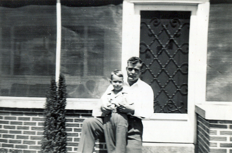 Jim Yarbrough with son Jim