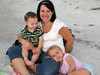 Kristin Yarbrough and kids 2011