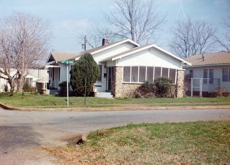 Grandfather Bert Yarbrough's Home 53rd St. Ensley, Birmingham, AL