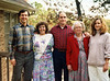 The Yarbroughs - Thanksgiving 1990 From left: Terry, Denise, Jim, Mom, and Dale
