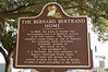 The Joseph D. Bernard House Historical Plaque