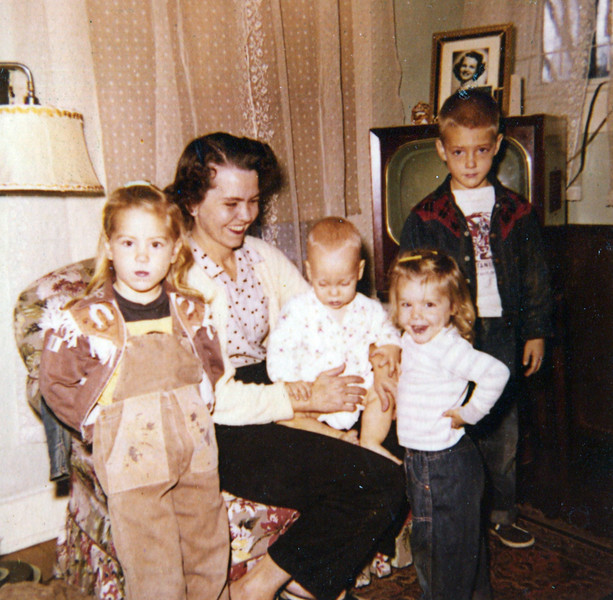 From Left to Right: Dale yarbrough, Mildred Yarbrough, Scott Newton, Denise Yarbrough & Terry Yarbrough December 13, 1956