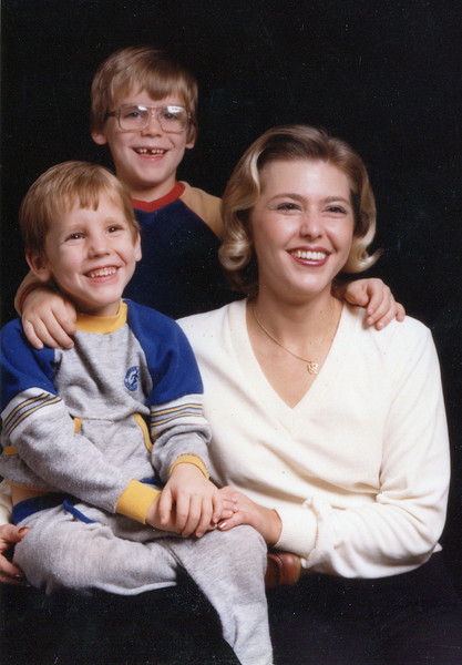 From Left: Eric, Shane & Denise Taylor (Yarbrough)
