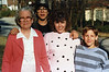 Mom, Denise, Shane and Eric - 1989