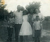 "Bert Yarbrough Family (from left): Tommy Yarbrough, Bert Yarbrough, Doris, James, Evelyn and ""little Bert III"""