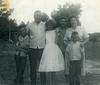 "Bert Yarbrough Family (from left): Tommy Yarbrough, Bert Yarbrough, Doris, James, Evelyn and ""little Bert III"""