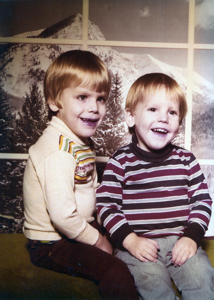 Shane and Eric Taylor December 29, 1979 Ages 4 and 2