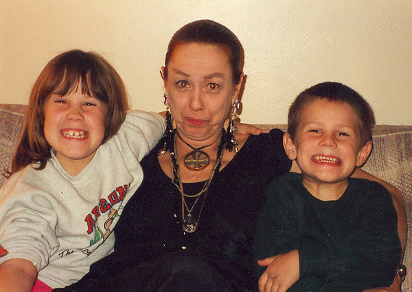 Kara Swinson, Teresa Hester, Brandon Swinson  - March 1992