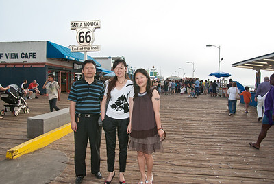 YI Qing's Family Visit to CA in Sept 2010