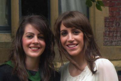 Susie and Caroline Maidment--July 2010