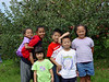 Apple picking...can you pick out the apples from the kids ?<br /> Jules, Trey, Marissa, Derek, Josh and Jasmine