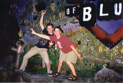 Rocky & Chris having fun at the House of Blues. Las Vegas July 1999