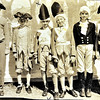 PLQ in colonial costume - School play,  McDonough, New  Orleans - about 1927?