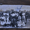 Probably baptism day of PLQ in Oldenburg - 1920 - Grandma & Grandpa Lehmann, Lula Guice, Lil & TPQ & PLQ, etc.