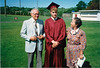 1991 Ellis Dave and Sophie high school graduation