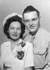 1945 Sophie and Ellis after their wedding