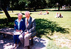 1990 Sophie and Ellis in Boston Common